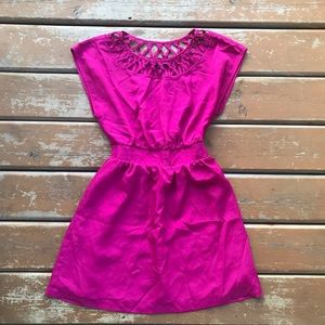 3/$30 - Forever 21 Dark Pink Dress - Size Small